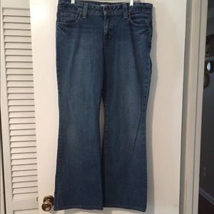 Women's Gap Curvy Flare Stretch Jeans